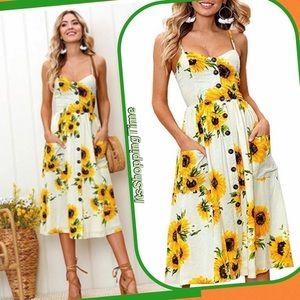 Dresses & Skirts - ❤️SALE❤️Sunflower Dress, Vintage Inspired